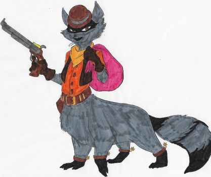 Tennessee Kid Cooper Taur Commission Colored by dragonheart07