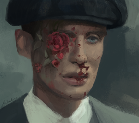tommy shelby by likatnnes
