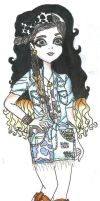 COMMISSION POINT EVER AFTER HIGH OC: Cowoline Moor by Haneeys1nsyeerah