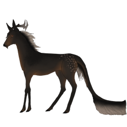 Munroe | Stag | Aspiring Witch by agrizian