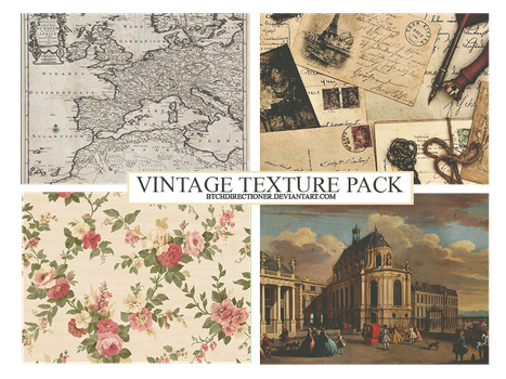 [19112016] VINTAGE TEXTURE PACK by btchdirectioner