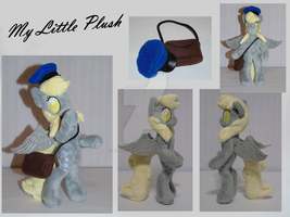 Anthro Derpy Hooves - Ditzy Doo Plush by My-Little-Plush