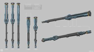 Warframe: Corpus Spear by SBigham