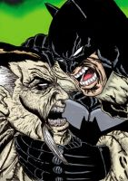 Batman  Rash Al Ghul Colored by nic011
