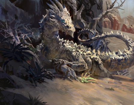 Desert Dragon by MikeAzevedo