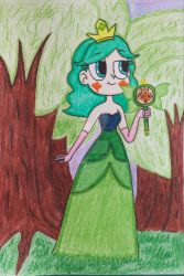 Queen Zodianne the Cultivator in a Forest by MayaButterfly