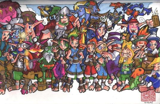 +The Original Jak and Daxter+ by neoyi