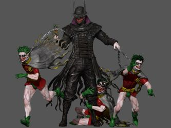 Dark Knights Metal: The Joker/Batman Who Laughs 2 by jubjubjedi