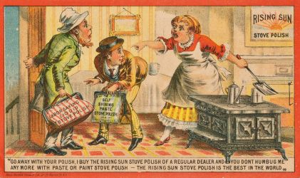 Victorian Advertising - Don't Humbug Me by Yesterdays-Paper