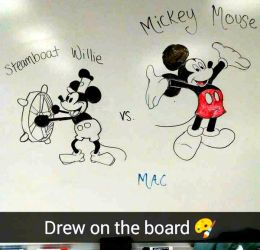 Steamboat Willlie vs. Mickey Mouse by Mac92795