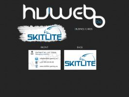 Business cards skitlite gaming by w3nky