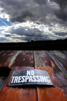 No Trespassing by orionsreverie