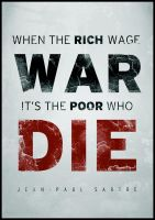 When The Rich Wage War... by mushir