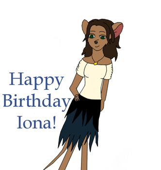 Happy Birthday Iona by KattMcAdam