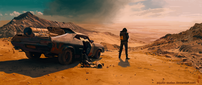Madmax Fury Road Study by Aquila--Audax