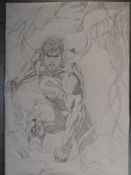 Superman Unchained by Nick-Bray