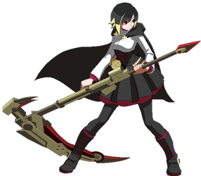 Ruby Rose Sprite Animation (Hyde) by SegGel2009