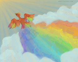 The Soar of Colors by Ankoku-Flare