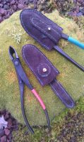 leather protection for bonsai tool by BalmoraLeathercraft