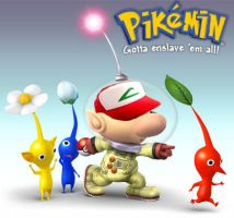 Captain Olimar is Ash Ketchum by rwlpeter