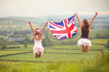 Fly the Union Jack - Jump 83 by escaped-emotions