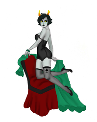 Black Quadrant Kanaya by Puddum