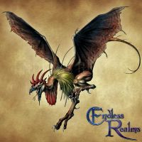 Endless Realms bestiary - Cockatrice by jocarra