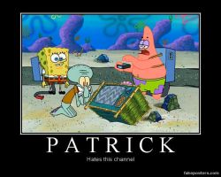 Patrick Hates this Channel by Onikage108