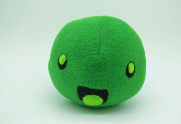Rad Slime Slime Rancher Plush by Gemlettuce