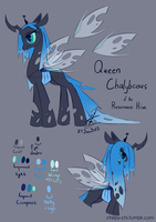Queen Chalybeous Ref V01 by Chirpy-chi