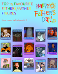 Top 15 Favourite Fathers and Father Figures by JasperPie