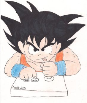 Goku vs the NES by HopeOfLeoEX