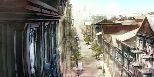 Quiet Afternoon by yuumei