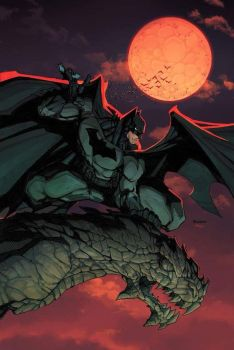 Batman on Gargoyle Colors by mikebowden
