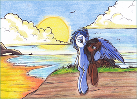 Commission - Fluka 1/2 by OfficerPony