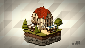 House 09 [Isometric][LowPoly] by Mezaka
