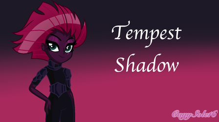 MLP EG Tempest Shadow  by SpeedPaintJayvee12