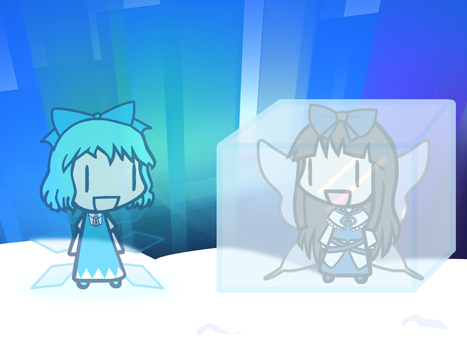 W-A-D (9) Cirno's ice collection by HTFCirno2000