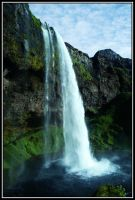Icelandic Waterfall by amrodel
