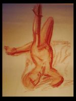 Life drawing 011 by MystiqueX