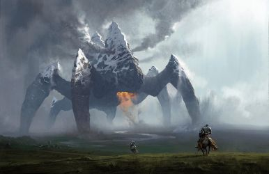 Earth Colossus by chasestone