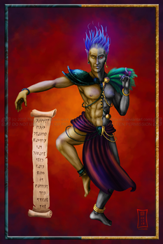 Vivec - Gift by Siobhan68