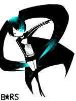 Vocaloid - Black Rock Shooter by attorneyhoboninja