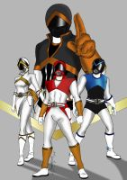 Another Super Sentai Squad by khriztian