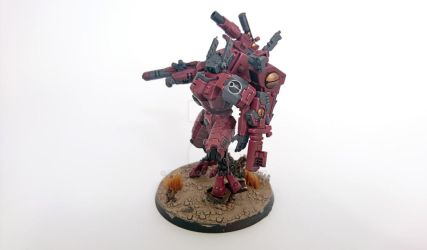Farsight Enclave Tau Commander by fuxstag