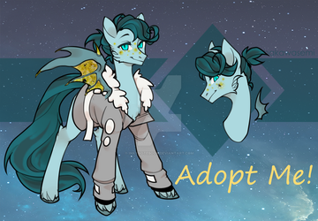 [CLOSED] Bat Pony Adopt by InkyNotebook