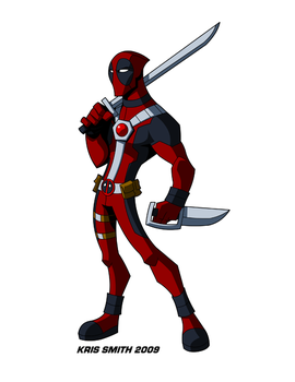 Deadpool, now in colour by KrisSmithDW