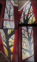 Yellow Tree Details by gensanity