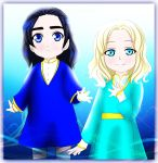 Little Turgon and Finrod by EPH-SAN1634