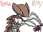 #141 Kabutops by SaintsSister47